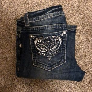 Miss Me JP5301B boot cut denim size 28